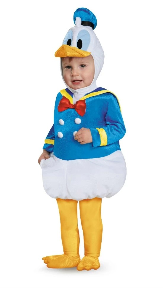 Halloween costume Donald Duck - mamalatinatips.com