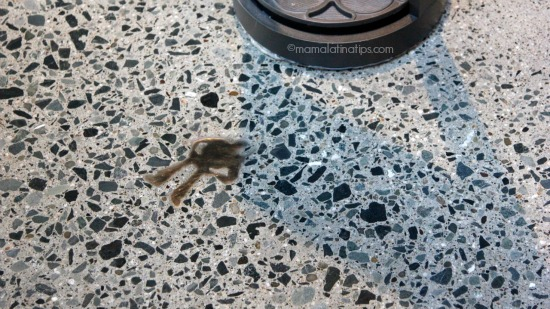 Buzz detail in the floor at Pixar