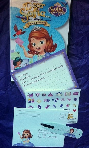 Sofia the First Stationery