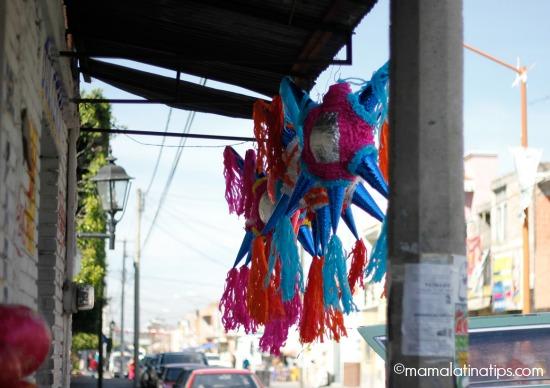 Piñatas in Mexico