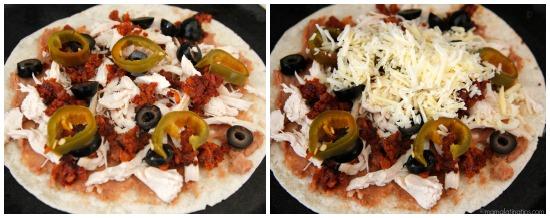 Nacho quesadillas layers - mamalatinatips.com