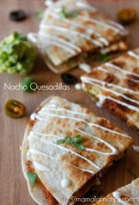 Nacho Quesadilla by mamalatinatips.com