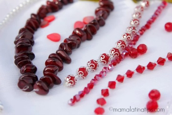 red beads - mamalatinatips.com