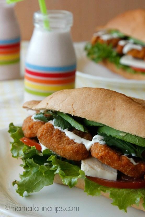 Chicken Nugget Torta - mamalatinatips.com