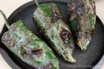 How to Peel Poblano Peppers