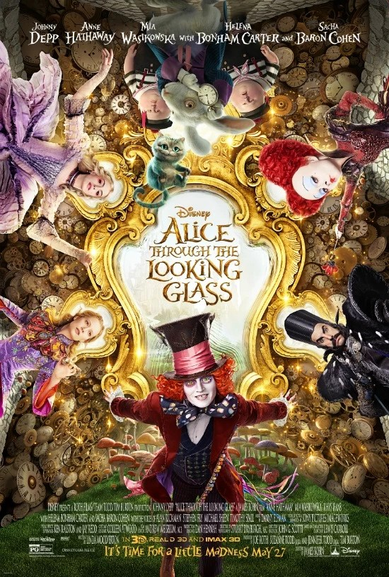 Alice Through the Looking Glass Poster - mamalatinatps.com