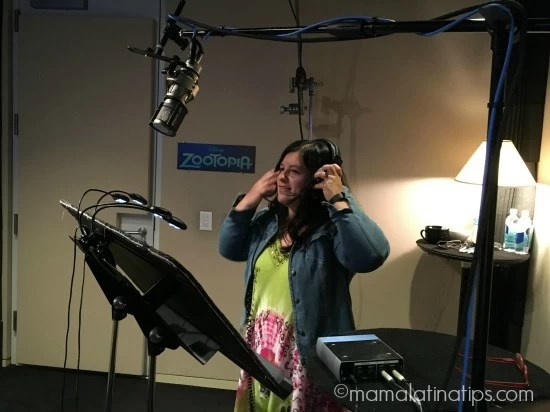 Silvia Martinez from Mama Latina Tips Practicing Voicing Fru Fru from Disney Zootopia