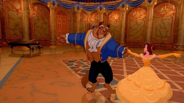 Beauty and the Beast dancing - mamalatinatips.com