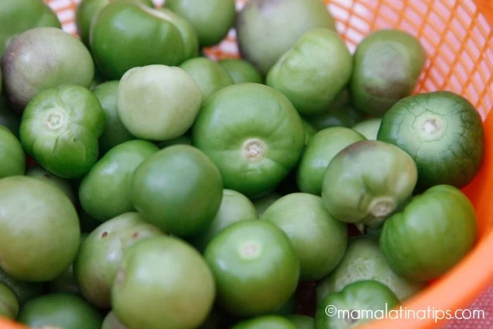 Tomatillos - mamalatinatips.com