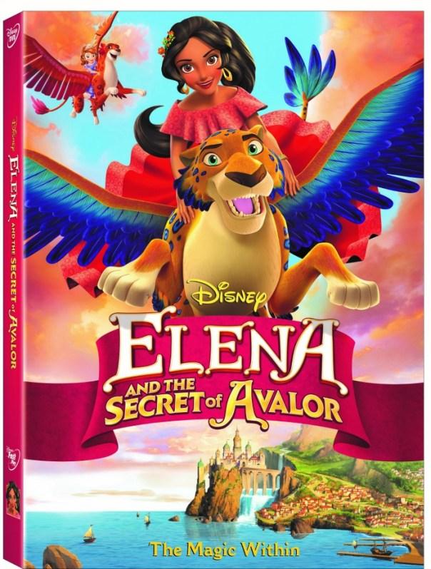 Elena and the Secret of Avalor - DVD giveaway - mamalatinatips.com