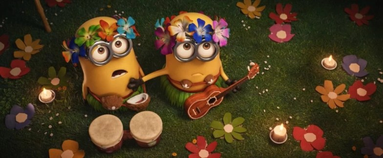 Despicable Me 3 Aloha Minnions