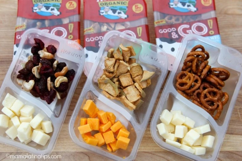 Nuevos snacks para niños de Horizon Oganic® Good & Go!