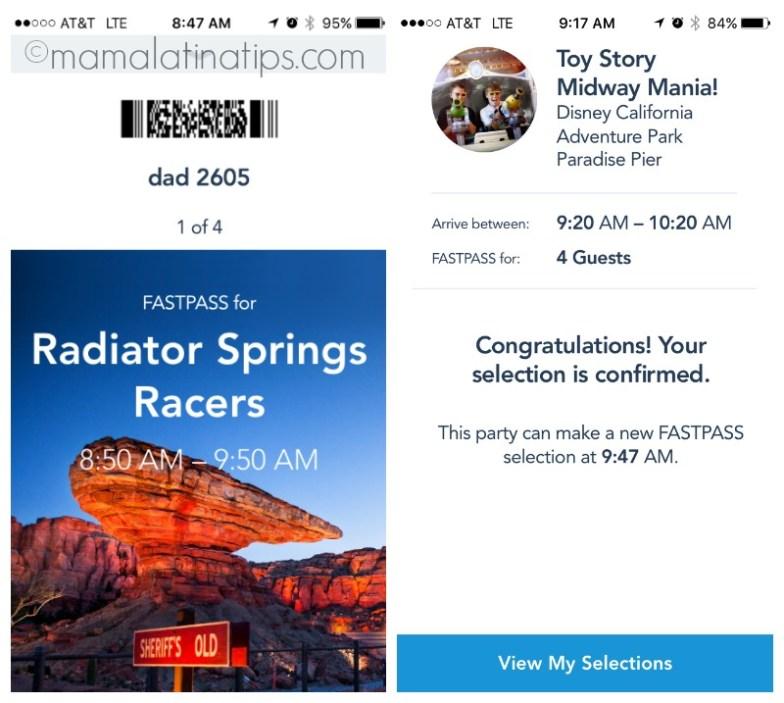 Disney MaxPass and FASTPASS