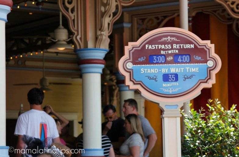 Horas de espera en Toy Story Mania