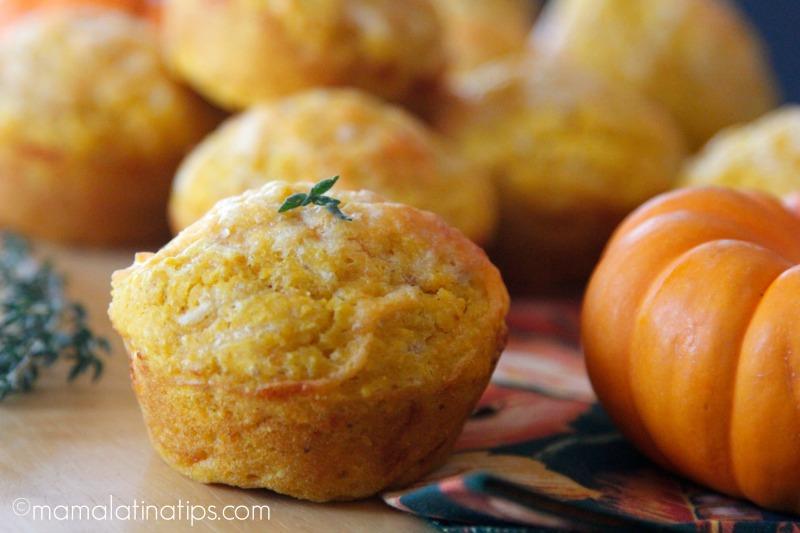 Pumpkin Cornbread Muffins