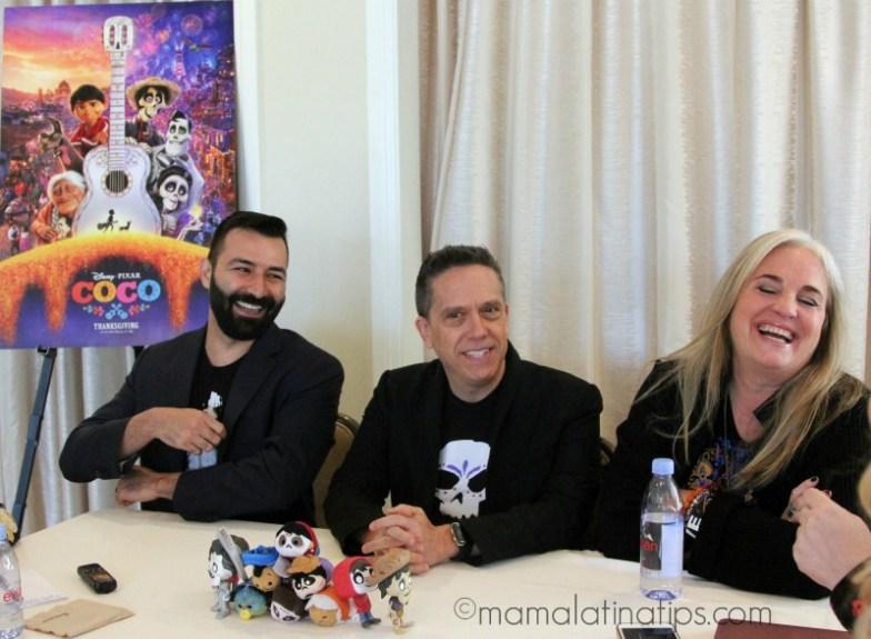 Lee Unkrich, Darla K Anderson Adrian Molina - coco - mamalatinatips.com