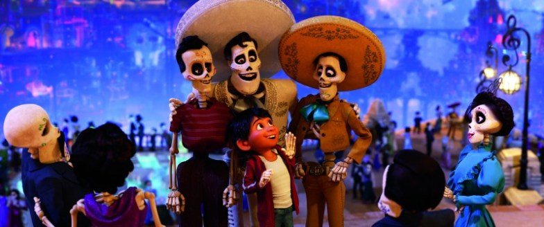 Scene of Pixar Coco
