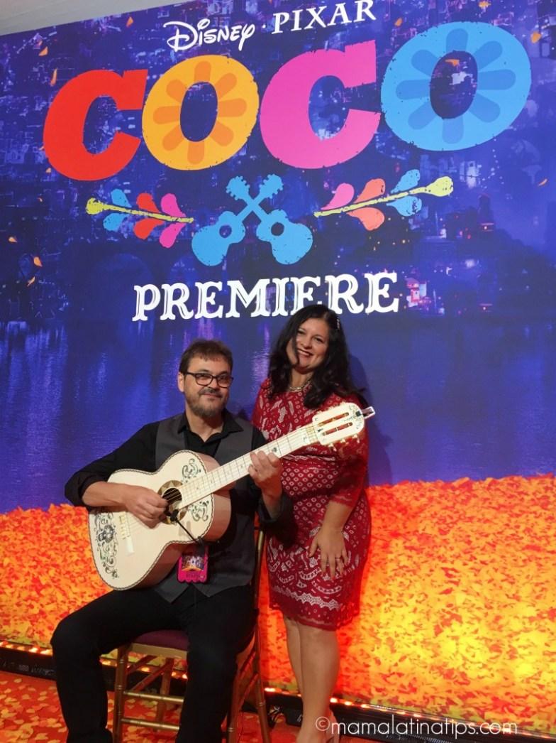 Federico Ramos & Silvia Martinez - Pixar Coco Premiere
