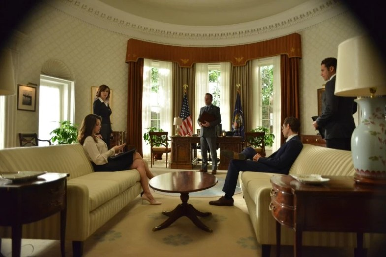Scene of Designated Survivor, Wednesdays 10/9c on ABC