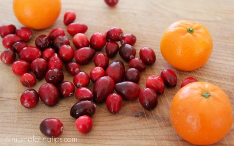 mandarinas y arándanos - mamalatinatips.com