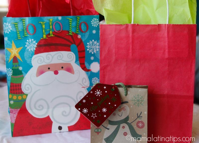 Bolsas de navidad para regalos