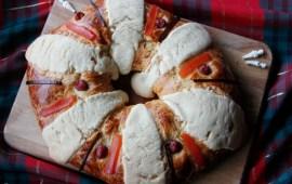 Receta de Rosca de Reyes de Naranja
