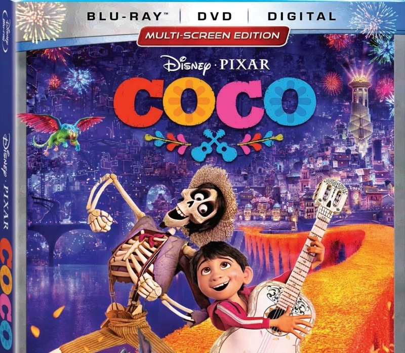 Disney Pixar Coco Blu-ray detail