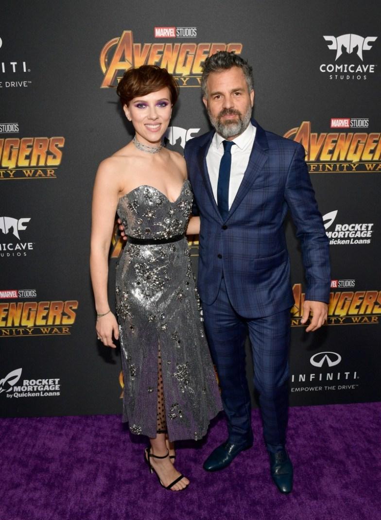 Scarlett Johansson & Mark Ruffalo
