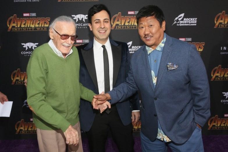 Stan Lee, Benedict Wong e Invitado