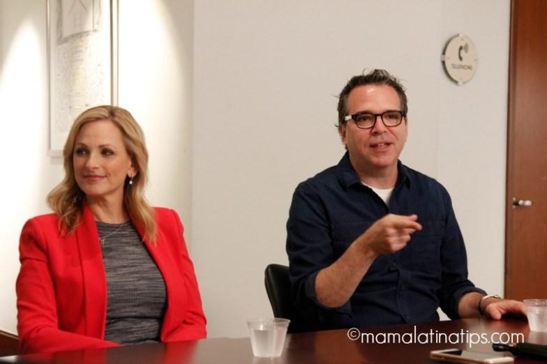 Marlee Matlin and Michael Seitzman Quantico