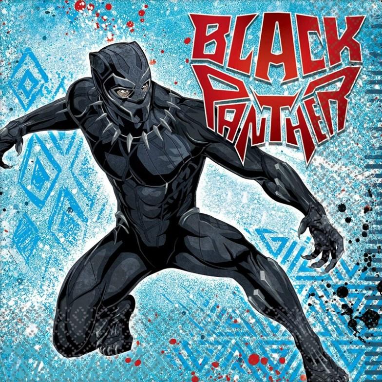 Servilletas de Black Panther