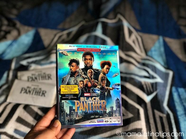 Blu-ray de Black Panther