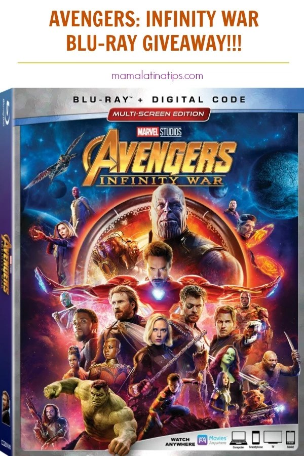 Learn here about the Avengers Infinity War Blu-ray bonus content and participate for a chance to win our giveaway. #avengers #avengersinfinitywar