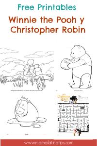 Free Winnie the Pooh printables