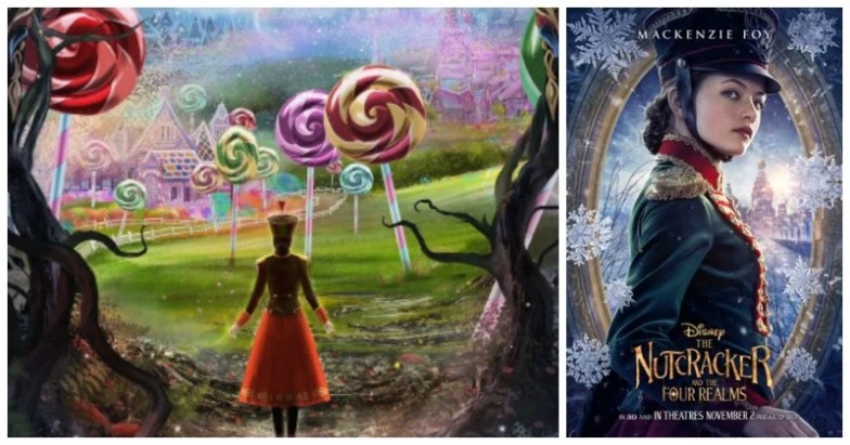 Disney's The Nutcracker and the Four Realms posters