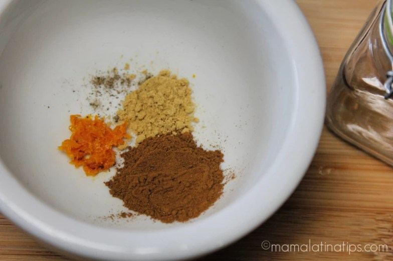 cinnamon spiced tea ingredients