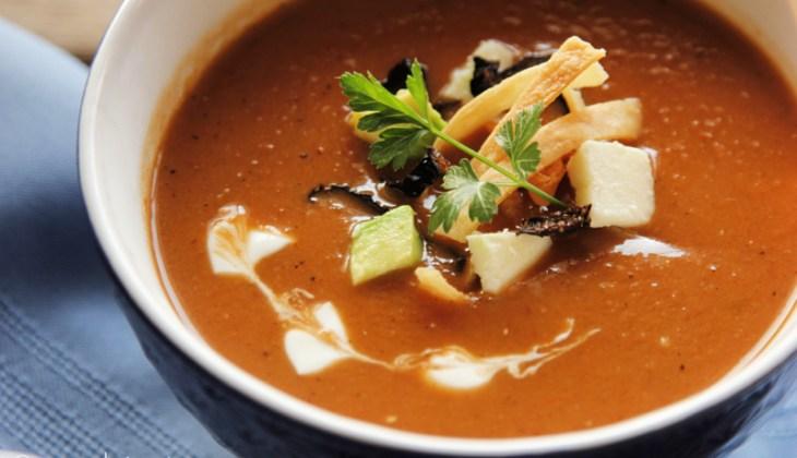 Pinto Bean Soup [Sopa Tarasca]