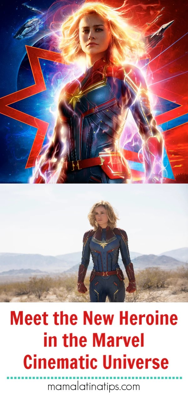 Meet the new heroine in the Marvel Cinematic Universe, Captain Marvel. New trailer, photos, posters and more. #mamalatinatips #Marvel #captainmarvel #mcu