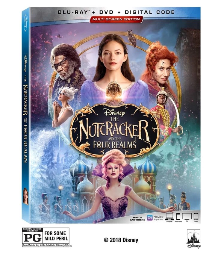 The Nutcracker and the Four Realms Blu-ray