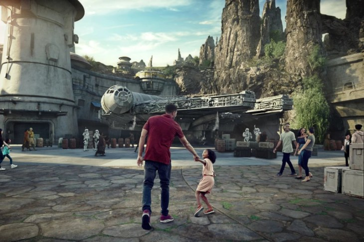 El Mundo de Star Wars en Disneylandia