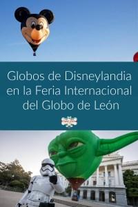 Storm tropper junto a un globo aerostático de Yoda