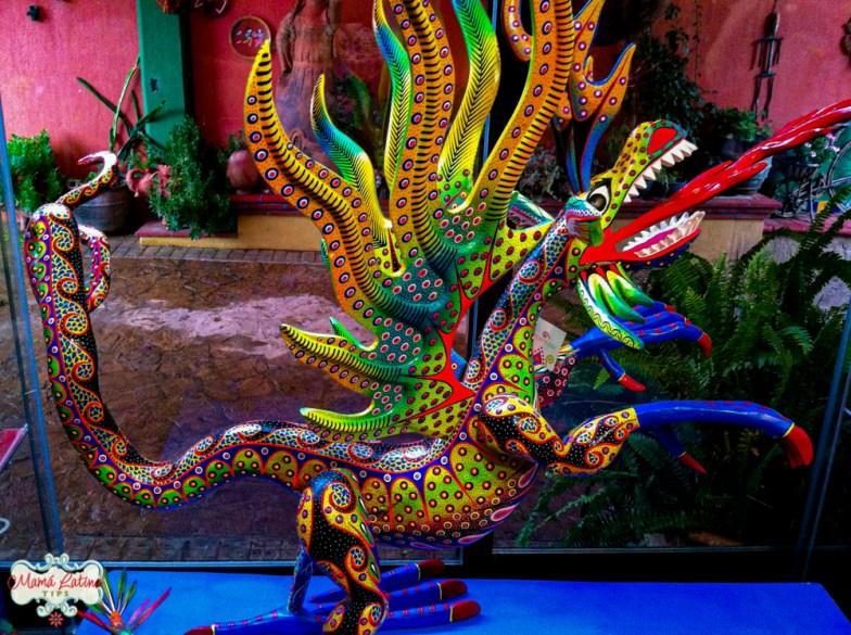Alebrije en forma de dragón