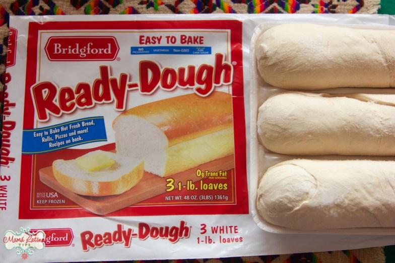 Bridgford ready dough frozen