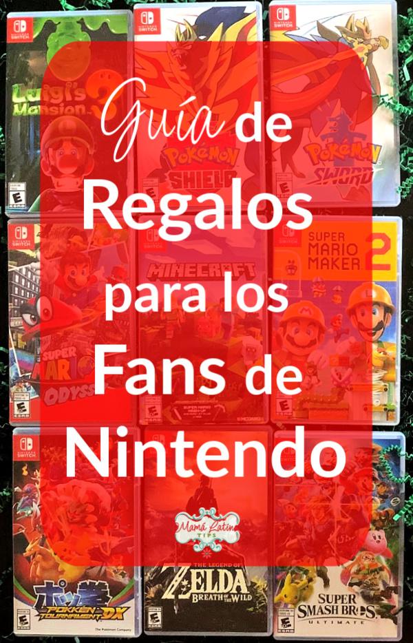 Foto que dice  Guía de Regalos para los Fans de Nintendo