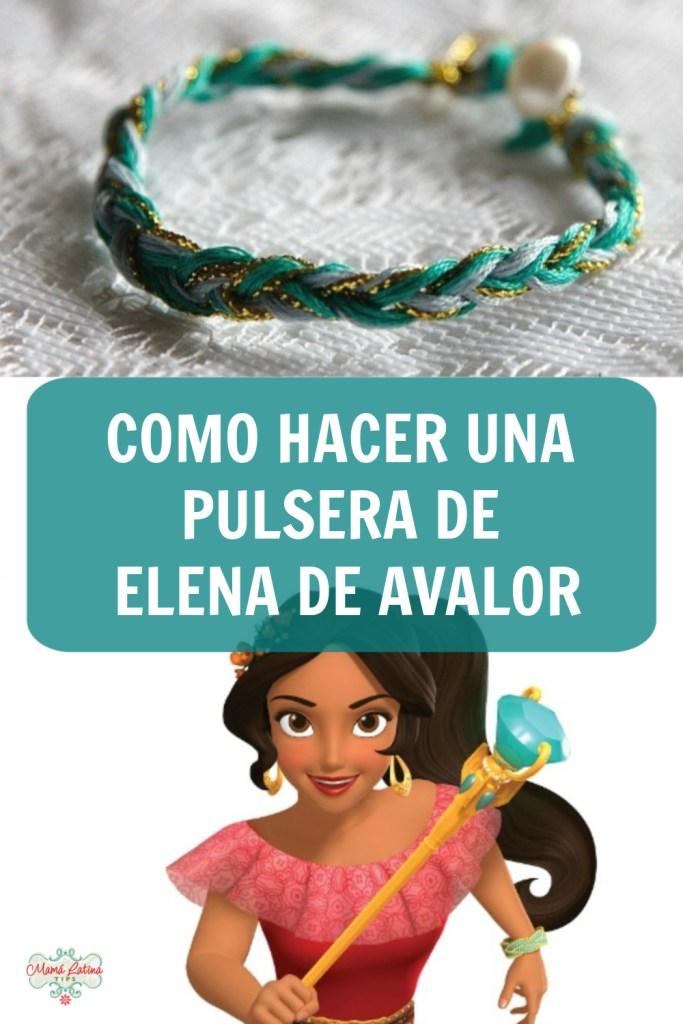 Pin que dice como hacer una pulsera de Elena de Avalor