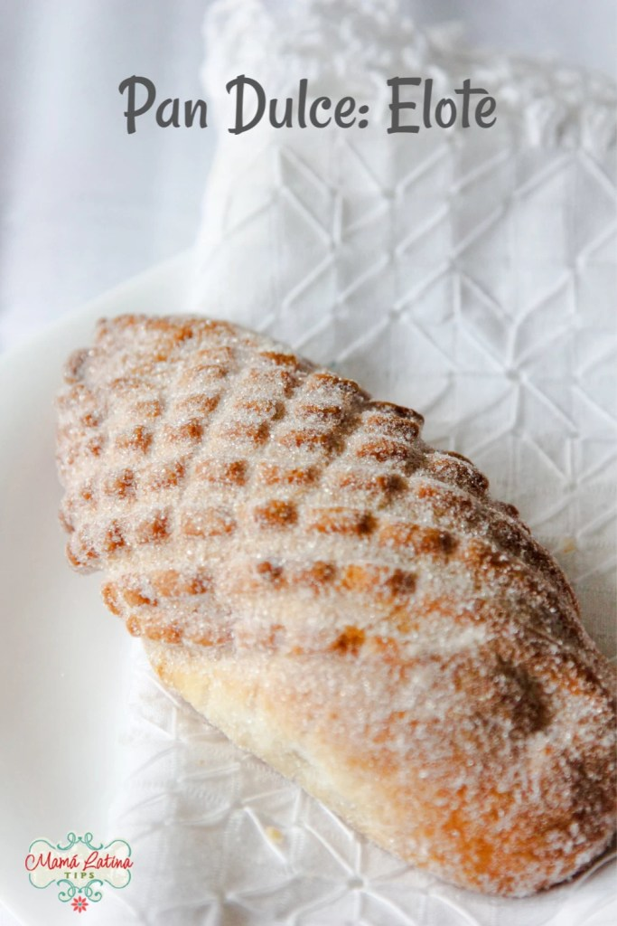 mexican pan dulce - elote