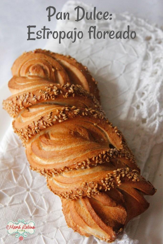 Mexican bread - estropajo floreado