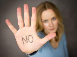 saying no, abuse