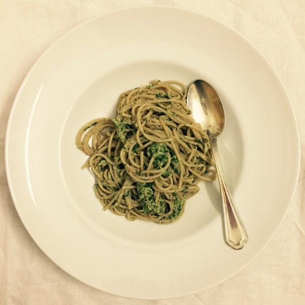 Kokos-Spinat-Zucchetti Spaghetti