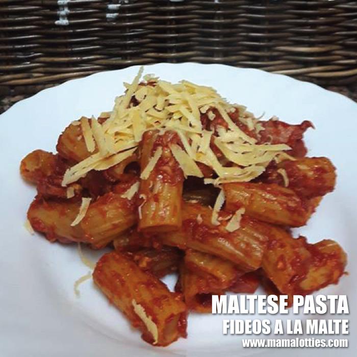 maltese pasta